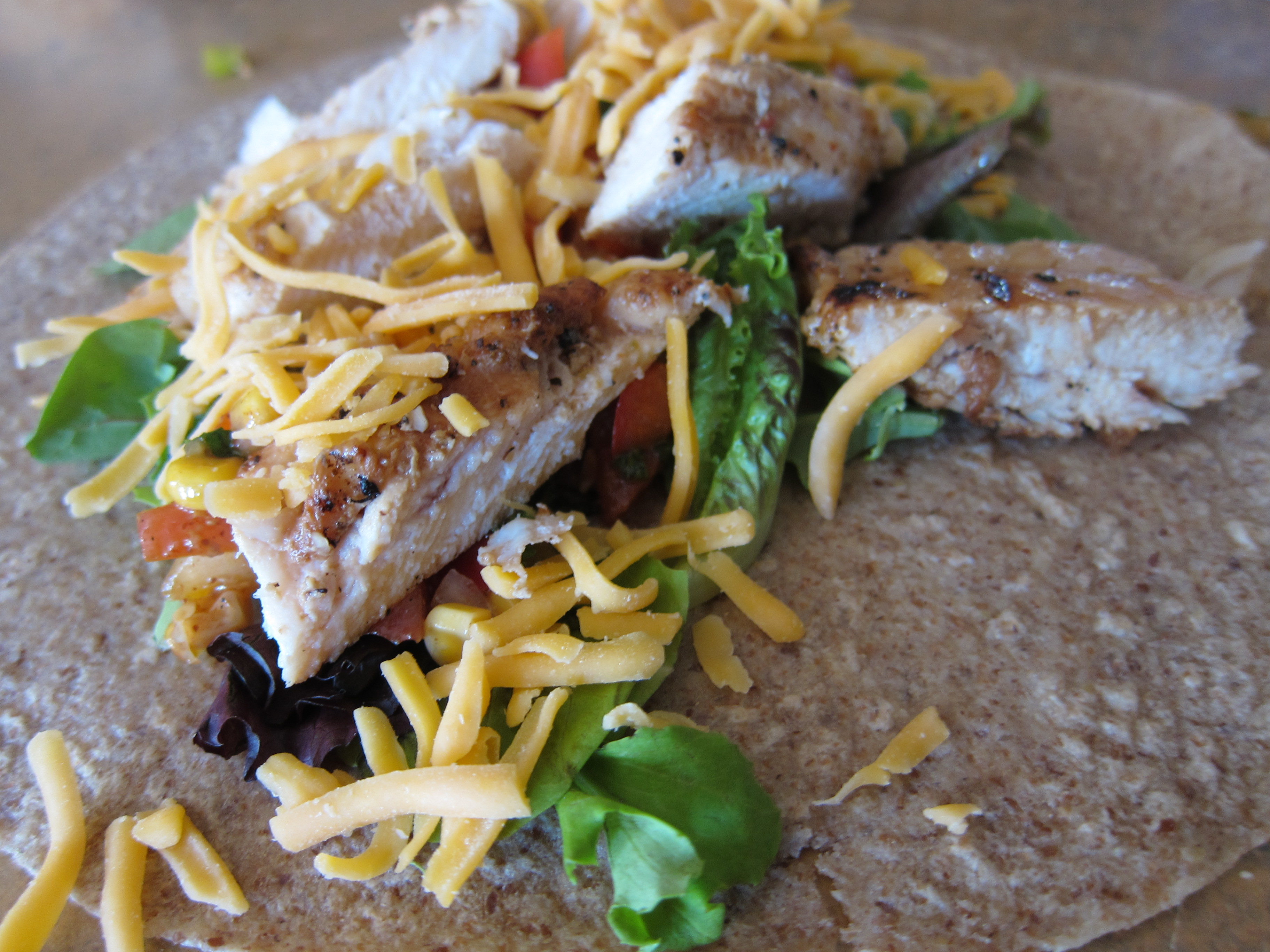 It's a WRAP! Lime- Grilled Chicken Mexi Paninis