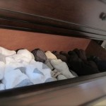 The sock drawer…