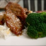 Crispy Orange Beef with Broccoli