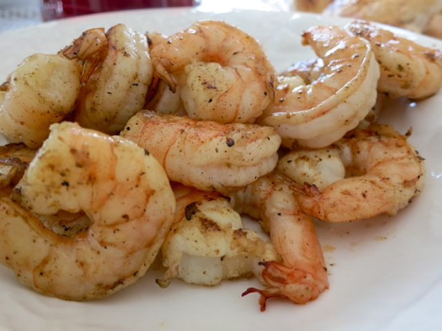 Easy Marinated Grilled Shrimp - Comfy in the Kitchen