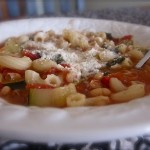 Minestrone Soup and Feasting in Fellowship Friday!