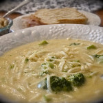 """Easy Peesy"" Broccoli Cheesy Soup"