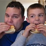 Dinner on the Go! Hoagies for the boys…