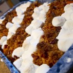 Sweet Potato Casserole/Feasting in Fellowship!