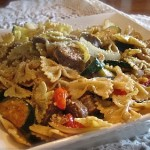 Bow Tie Pasta w/ Italian Sausage and Vegetables