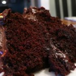 MOIST Gluten-Free Double-Layer Chocolate Cake {From a box?! Oh yeah…}