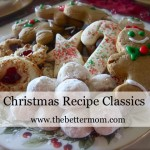 Classic Christmas Cookie Recipes @ The Better Mom!