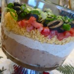 Mexican Dip Trifle {For a Crowd}