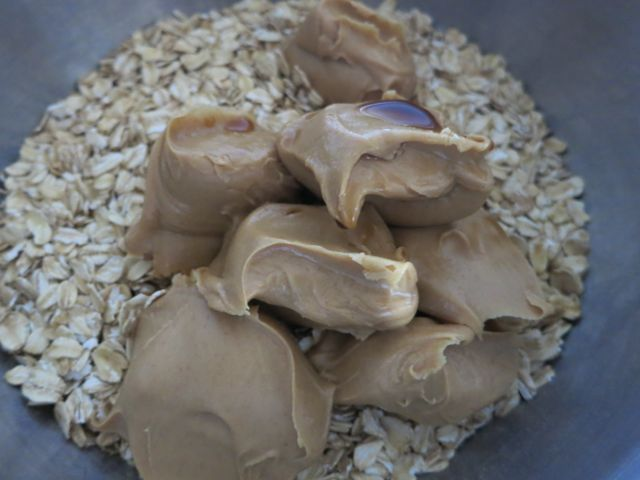 No Bake Peanut Butter Chocolate Chip Balls