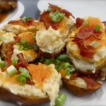 The BEST Twice-Baked Potatoes
