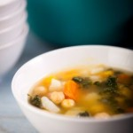 A Vegetarian Soup that Will Chase Away the Chill…Kale/Lentil/Tofu Soup