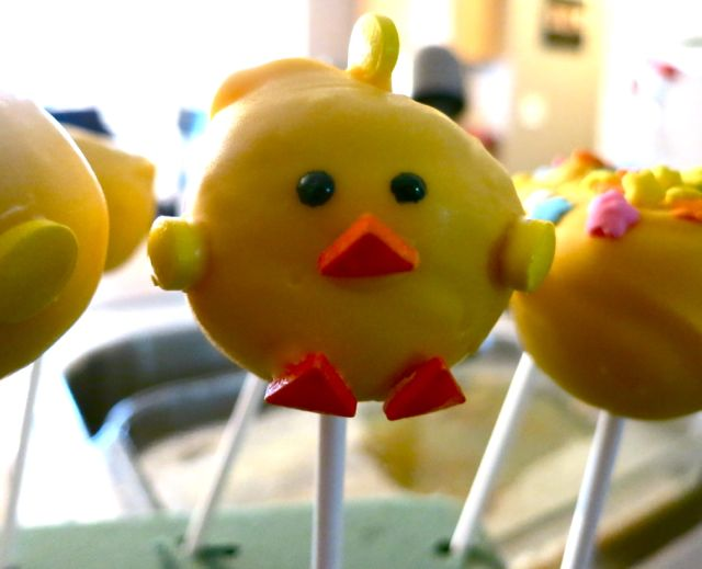 Chick Cake Pops Images : How to Make Spring Chicks Cake Pops - Women Living Well