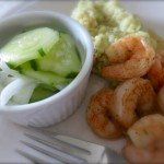 Easy & Refreshing Cucumber Salad at WLW