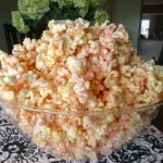 Colored Popcorn {Pink}