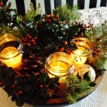 How to Make a Christmas Centerpiece With What You Have