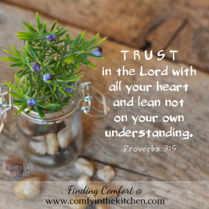 EDS OO - Trust in the Lord