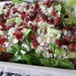 Best Ever Greek Salad with Homemade Citrus Vinaigrette