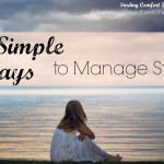 5 Simple Ways to Manage Stress