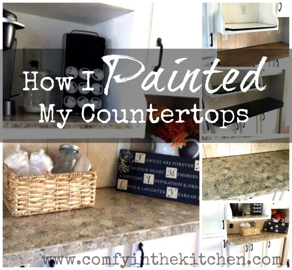 Can I Paint Countertops How I Painted My Countertops