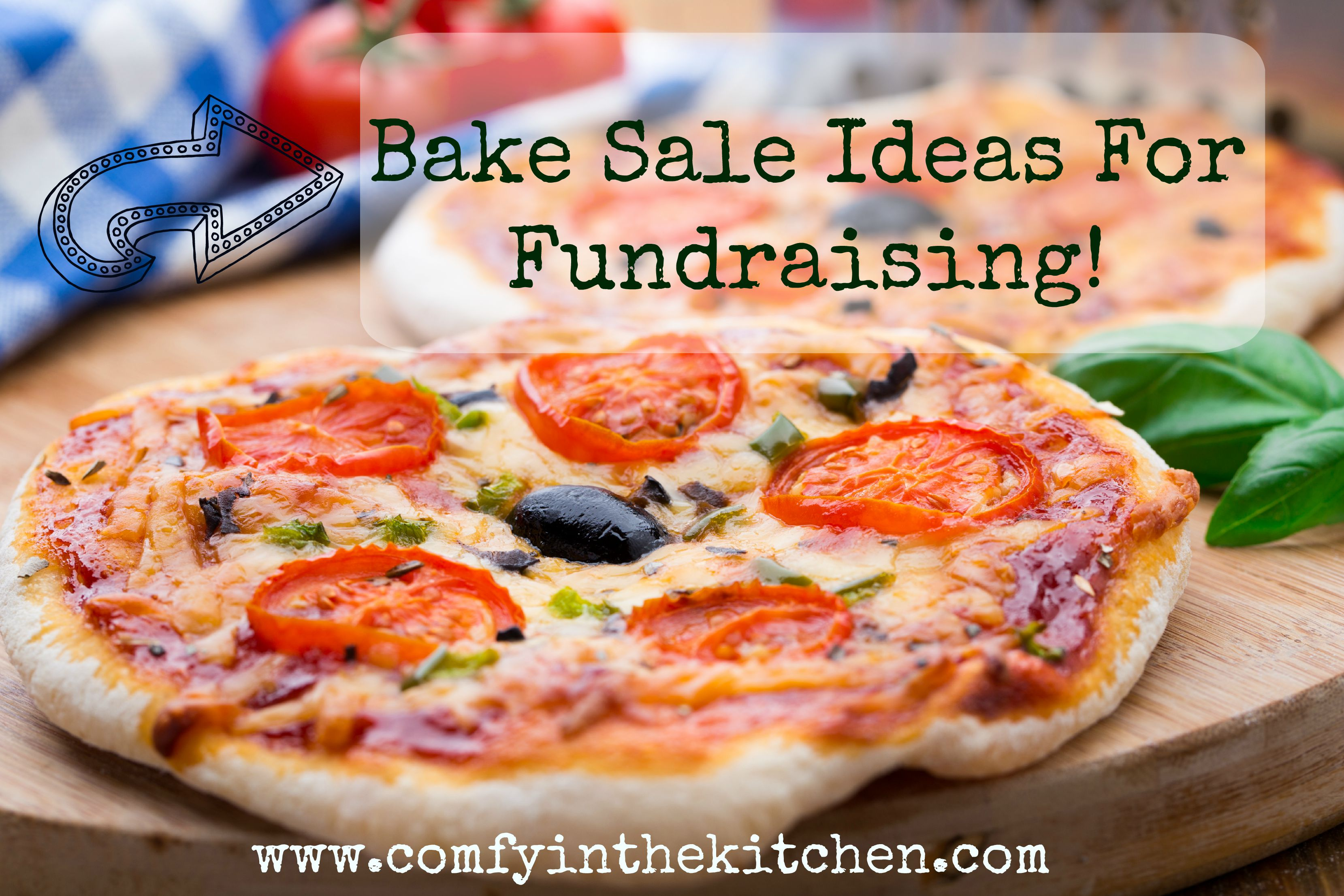 bake ideas for fundraisers comfy in the kitchen vegetarian mini pizza cherry tomatoes paprika and olives