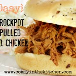 Easy Crockpot Pulled BBQ Chicken