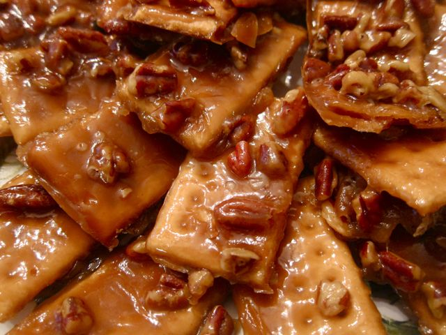 This easy cracker toffee recipe is the perfect combination of sweet, salty and crunchy. One bite and you're hooked! Plus this recipe is so versatile. #Christmas #Toffee #Easyrecipes