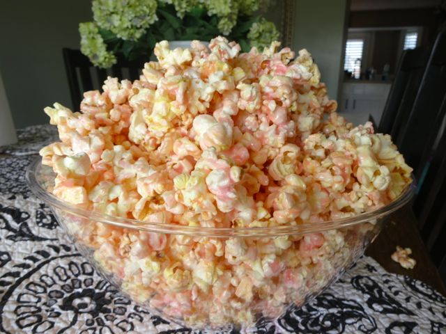 Colored Popcorn {Pink}